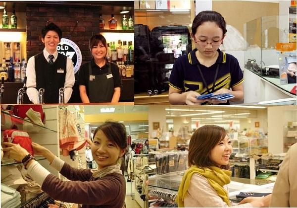 Công việc làm thêm tại Nhật rất nhiều