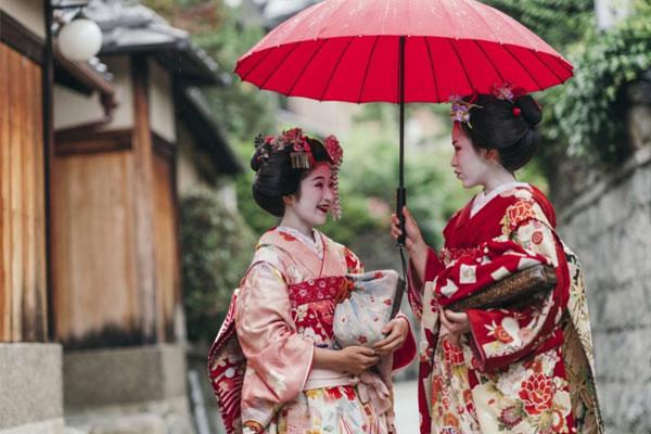 Con người tại Kyoto